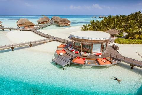 马尔代夫-【自由行】*即时确认马尔代夫卡尼岛6天*机票+酒店*ClubMed地中海俱乐部*广州直航*<一价全包、4会所>