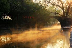 佛山-【佛山】桂林海洋桃花、千年兴安古镇、灵渠运河动车3天*三生三世十里桃花