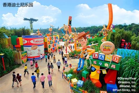 香港迪士尼乐园一天门票+永东直巴往香港去程-成人