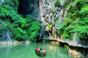 桂林-【生态·美食】清远英德九龙小镇、洞天仙境1天*特色盘菜风味宴<九龙洞天>