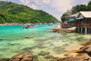泰国-泰国【当地玩乐】代订普吉皇帝岛+蜜月岛豪华动力游艇日落之旅一日游*等待确认