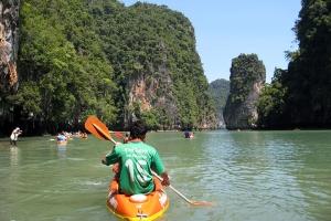 泰国-泰国【当地玩乐】代订甲米卡洛斯山划皮划艇半日游*等待确认