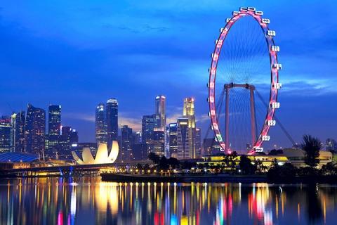 【新马航次】-公主邮轮蓝宝石公主号新加坡-槟城-吉隆坡-新加坡5天海陆空假期
