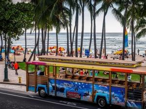 夏威夷-【跟团游】美国夏威夷无忧乐享半自助.8天*生命中的最美彩虹*北京往返*等待确认