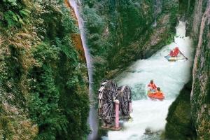 古龙峡漂流-【佛山】清远古龙峡漂流1天*飞龙全程漂、飞来湖湿地公园纯玩一天