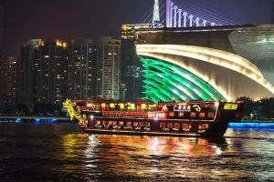 珠江夜游-珠江夜游南海神号(天字码头和广州塔码头)