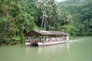 漂流-【尚·休闲】菲律宾宿雾、薄荷岛5天*星享*文化风情<圣婴教堂,船游罗博河,迷你眼镜猴,巧克力山>