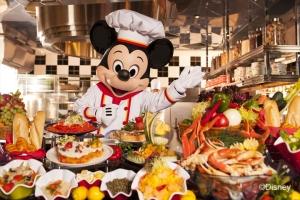 香港迪士尼-香港迪士尼好莱坞酒店米奇厨师餐厅