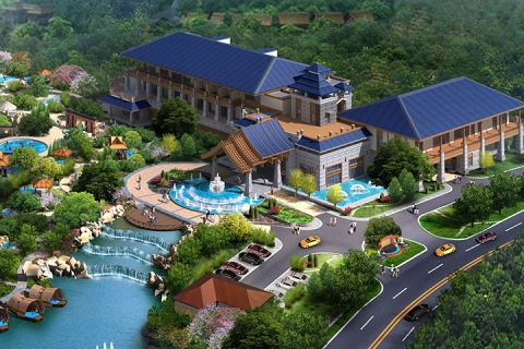 佛山2天*高明美的鹭湖岭南花园酒店*含无限次半山温泉
