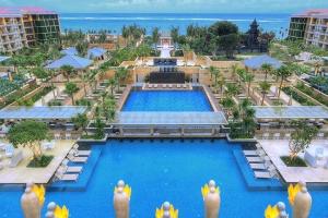 印尼【移动-【自由行】印尼巴厘岛6天*鹰航往返商务舱+4晚巴厘岛超豪华穆丽雅度假酒店 Mulia Resort Nusa Dua+机场接机*广州往返*等待确认<高端商务>