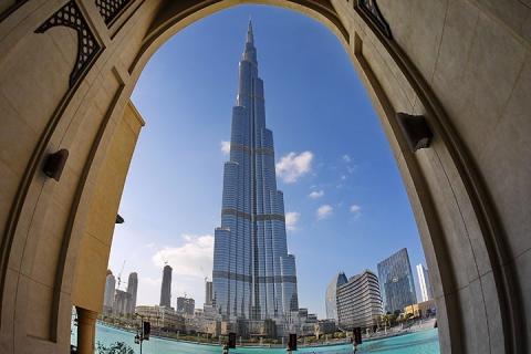 迪拜-【尚·猎奇】阿联酋迪拜6天*沙海奇享*帆船酒店美食<入住沙漠玫瑰酒店,入住棕榈岛池畔别墅>