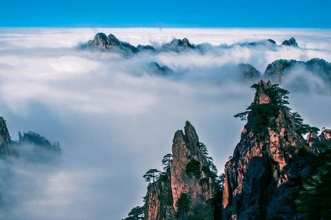黄山 上海 杭州 苏州-【典·全景】上海、杭州、黄山、双飞6天*上海外滩*休闲西湖<入住一晚黄山风景区>