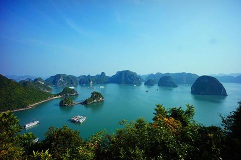 越南、河内、吉婆岛、下龙湾、动车5天*越美食