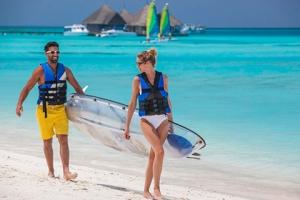 马尔代夫【移动-【自由行】马尔代夫卡尼岛6天*机票+酒店*ClubMed地中海俱乐部*广州往返南航*等待确认<一价全包、4会所>