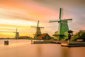 荷兰-【当地玩乐】DAA荷兰阿姆斯特丹周边一天游(风车村、沃伦丹,阿姆斯特丹出发)