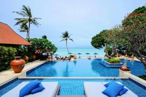 泰国-【自由行】泰国苏梅岛6天*超豪华万丽度假酒店*广州往返<51平方米花园豪华房,带有按摩浴缸,提供多项水上、陆上运动>