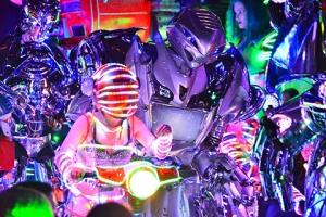 日本-日本【门票】超人气东京新宿机器人餐厅表演SHOW