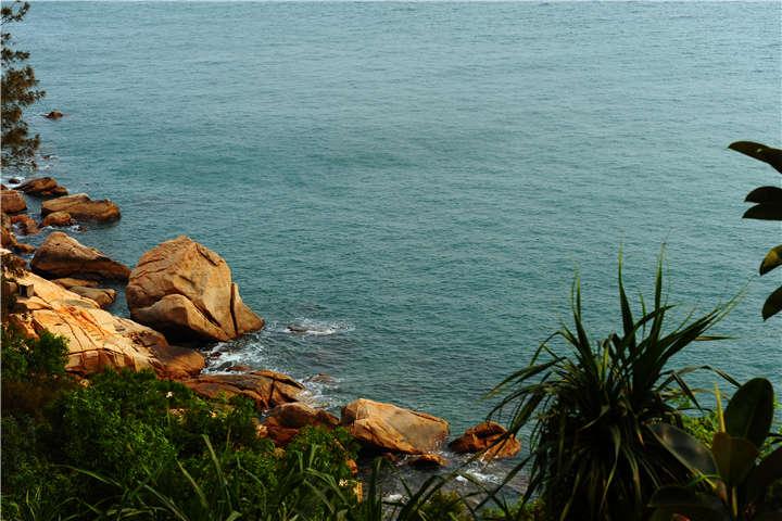珠海外伶仃岛相思岭度假村
