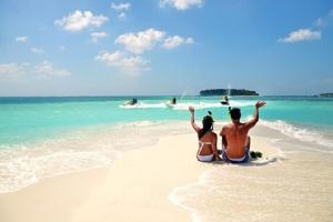 马尔代夫-【自由行】马尔代夫(库达班度士岛)6天*机+酒*广州往返*等待确认<含早午晚餐、经济型、中文服务,快艇上岛>