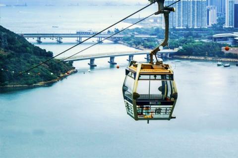 <海陆空>香港昂坪2天.双程标准缆车.直通巴士