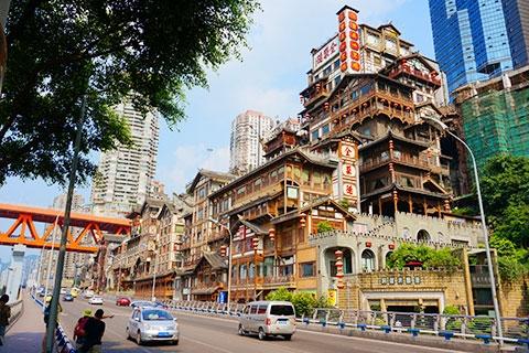 重庆3天.含2晚市区高级酒店+可升级.早对晚航班.等待确认