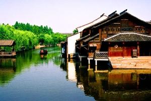 杭州-【跟团游】华东五市·乌镇水乡·登金茂大厦·豪叹希尔顿双飞5天*佛山